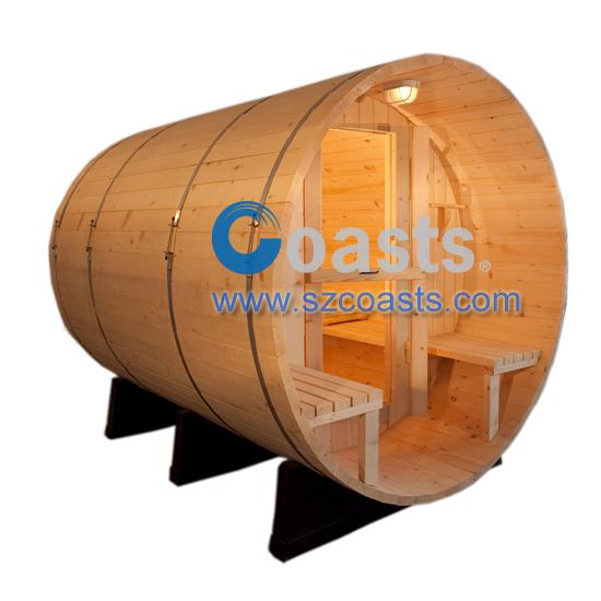 """H ""model outdoor barrel sauna"